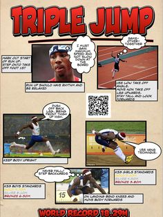 Triple Jump resource Track Workout, Gym Workouts, Pe Board, Pe Lesson Plans, Gcse Pe, Physical Education Lessons, Jr Sports, Pe Lessons, Triple Jump