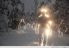 """Amazing Long-Exposure Pics that now look like the cybermen """"ghosts""""!"""