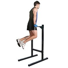 BBBuy Freestanding Dipping Station Dip Stand Parallel Pull Push Up Bar Bicep Triceps Home Fitness Workout Gym For Sale Gym Workouts, At Home Workouts, Pilates For Men, Best Recumbent Exercise Bike, Best Treadmill For Home, Dip Bar, Exercise Bike Reviews, Push Up Bars, Good Treadmills