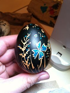 I would like to try some egg painting
