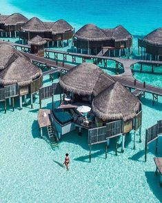 Overwater Bungalow in Maldives. 20 Amazing Hotels In Striking Locations You Must Visit. Overwater Bungalow in Maldives. 20 Amazing Hotels In Striking Locations You Must Visit. Beautiful Places To Travel, Beautiful Hotels, Cool Places To Visit, Places To Go, Amazing Hotels, Romantic Travel, Romantic Vacations, Vacation Places, Vacation Destinations