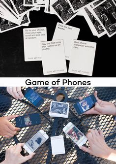Game of Phones is a fun party game for anyone who has a phone. Each card has a phone-based challenge that one person gets to judge the other players on. Who can take the best selfie, find the cutest cat on the internet, or any number of phone-based tasks?