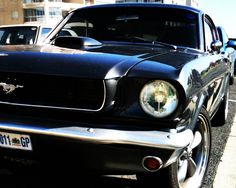 Ford Mustang in Mouille Point...