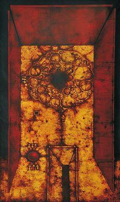 MIKULÁŠ MEDEK: VELKÁ IVIŠKA / 1970 Siena, Yahoo Images, Art Reference, Image Search, Abstract Art, Painting Art, Modern, Trendy Tree, Paintings
