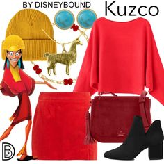 DisneyBound is meant to be inspiration for you to pull together your own outfits which work for your body and wallet whether from your closet or local mall. As to Disney artwork/properties: ©Disney Emperors New Groove, Character Inspired Outfits, Disney Bound Outfits, Disney Artwork, Dapper Day, Fandom Fashion, Disneybound, Disney Style, Disney Inspired