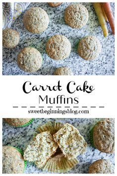 Carrot Cake Muffins are a bite size version of classic carrot cake and are a delicious way to sneak some veggies into breakfast or snack! #carrotcake #muffins #breakfast #dessert #SpringSweetsWeek #SweetBeginningsBlog #dixiecrystals #melissasprodce #taylorandcolledge Breakfast On The Go, Breakfast Dessert, Best Breakfast Recipes, Brunch Recipes, Carrot Cake Muffins, Homemade Muffins, Muffin Recipes, Bite Size, Recipe Box