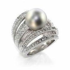Tahitian Pearl Ring!                                                                                                                                                                                 More