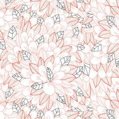 """$9.95/yd Manufacturer: Cloud 9 (149405) Designer: Lisa Congdon Collection: Kindred Voile Print Name: Blomma Voile in Pink   Weight / Material / Width: Apparel, Voile, 44/45 inches Horizontal repeat: 6.25 inches, Vertical repeat: 11 inches   Biggest leaf is 1"""" x 1""""."""