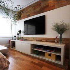sala de tv com lareira de alcool - Pesquisa Google