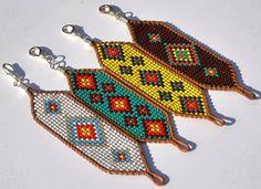 Boho beaded bracelet Women beaded bracelet by TribesBySaraK Hippie Chic, Hippie Style, Boho Style, Boho Chic, Beaded Jewelry, Handmade Jewelry, Beaded Bracelets, Hippie Jewelry, Bracelets Hippie
