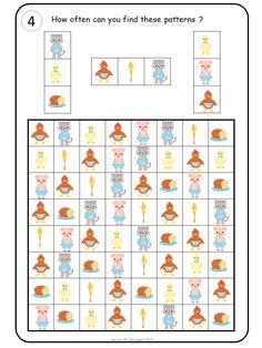 Pattern fun with the Little Red Hen Pattern fun with the Little Red Hen Preschool Learning Activities, Educational Activities, Visual Perception Activities, Little Red Hen, Creative Thinking, Childhood Education, Pattern Blocks, Speech Pathology, Preschool