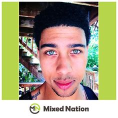 "Thanks to Cameron Schaefer for submitting this cool photo! We are Mixed Nation!     ""I am half white (Lithuanian, Hungarian, German, Irish, English) and half black (African American)."" - Cameron Schaefer"