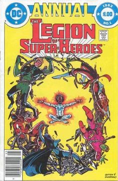 Legion of Super-Heroes Annual #1 (1982), Keith Giffen, Paul Levitz, DC Comics, The Legion Outpost, Computo