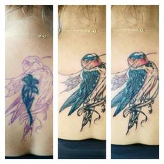 Cover up! #antalya #tattoo #bird #tattoobyhasan #coverup #niceday #interesting #girlstattoo