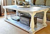 Faire une table basse en palette originale en style vintage