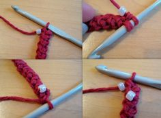 How to make Lobster Cord and add beads for bracelets - Free Tutorial