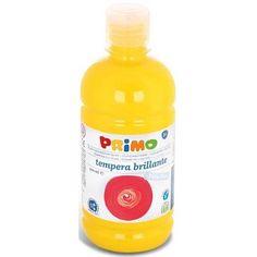 Primo élénk sárga tempera festék 500 ml műanyag tégelyben - 201 Ft Ár 790 Tempera, Drink Bottles, Water Bottle, Soap, Drinks, Drinking, Beverages, Water Bottles, Drink