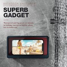 Enjoy your favorite movie, TV shows, podcasts, and more while relaxing in the bathtub or shower or jacuzzi without holding your phone.The phone case allows you to watch a show while cooking or even learn a recipe!