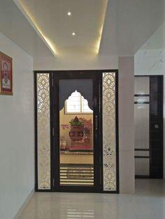 Living Room Partition Design, Room Partition Designs, Ceiling Design Living Room, Temple Design For Home, Pillar Design, Pooja Room Door Design, Pooja Rooms, Indian Home Decor, Mandir Design