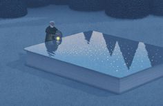 Surreal Illustrations for Book Lovers – Fubiz Media