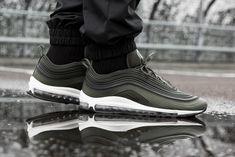 Nike's Rubberised Air Max 97 Returns in Khaki - Sneaker Freaker