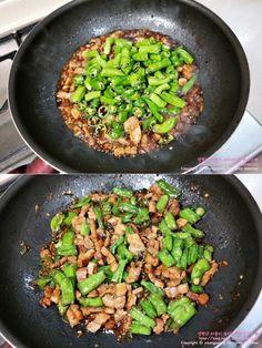 삼겹살요리 먹을수록 중독되는 백종원 삼겹살볶음 : 네이버 블로그 Rice Recipes, Asian Recipes, Cooking Recipes, Ethnic Recipes, Cooking Photos, Vegetable Seasoning, Korean Food, Fried Rice, Good Food