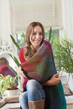 Ravelry: Hue Shift Afghan pattern by Kerin Dimeler-Laurence