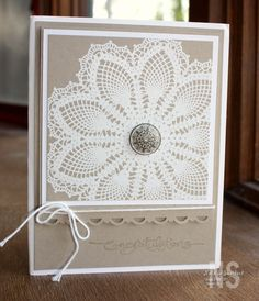This makes me think I should frame one of mom's doilies maybe with a pic of her.