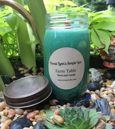 A personal favorite from my Etsy shop https://www.etsy.com/listing/547202483/farm-table-wood-wick-candle-handmade