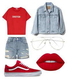 """Untitled #33"" by frid1445 on Polyvore featuring River Island, Gap, Express and Lime Crime"