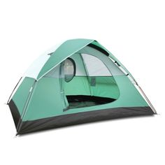 Outdoors 3-Person Instant Self Quick Pitch 3-Season Camping Dome Tent with Carry Bag