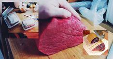Recept na sušené hovězí maso naložené v soli a sušené ve visu v gáze, masohere.cz Cheese, Blog, Blogging