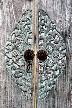 loved this door and had to take a pic :) in Ubud Bali Indonesia