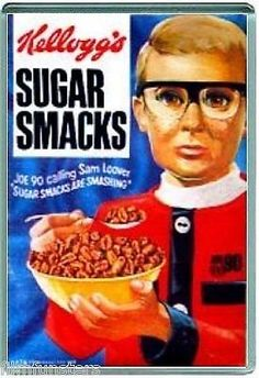 Sugar Smacks - Joe 90 - there was a badge collection with this too 80s Food, Retro Food, Vintage Food, Vintage Art, Retro Recipes, Vintage Recipes, Joe 90, Coffee Branding, Food Packaging