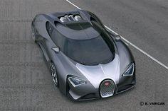 Bugatti Chiron : l'hybride rechargeable aux 1500 ch
