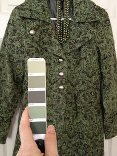 Soft Autumn Greens - want something this green color