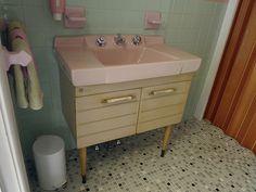 Mid-century American Standard Gracelynn sink