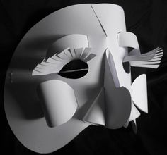 Inanimate Puppet and Mask - Paper Masks