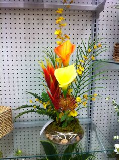 Tropical floral by kristy@michaels1091
