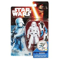 Star Wars The Force Awakens 3.75-Inch Figure Snow Mission First Order Snowtrooper. Star Wars Gifts for Star Wars fanatics.