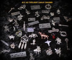 Twilight Saga COMPLETE 45 Charm set DIY