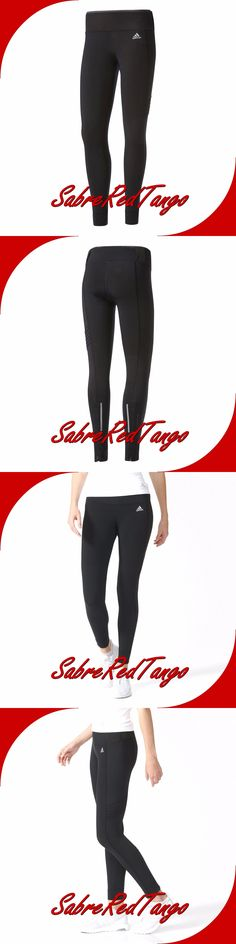 Compression and Base Layers 179822: Nwt Adidas Womens Sequencials Climaheat Running Long Tights Pants Az7168 Black -> BUY IT NOW ONLY: $49.99 on eBay!