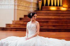 De Lanquez Gown White Lily Couture