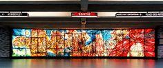 """Le #metropolitane più belle del mondo """"Place des Arts Métro station"""" Montréal Canada #metrò #architettura"""