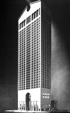 Postmodernist architecture emerged as a reaction against the severity and indifference to cultural specificity in International Style. Architects sought to incorporate decoration, symbolism, homour and local reference back into their designs.  Phillip Johnson, AT&T building, 1978-84.