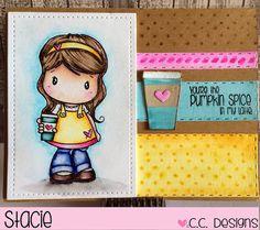 CC Designs Latte Lucy Latte Die September Release