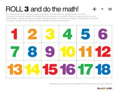 ROLL 3 and do the math!