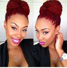 Love the color and the bun! I need it!