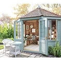 50 Popular DIY Backyard Studio Shed Remodel Design & Decor Ideas - Page 11 of 56 Outdoor Office, Backyard Office, Backyard Studio, Backyard Projects, Backyard Sheds, Backyard Designs, Garden Studio, Outdoor Sheds, Backyard Retreat