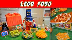 Lego party food: love iPhone app idea - pic for each party attendee?